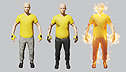 <br>Dynamic materials <br> for characters <br>by Jeroen Bloemen <br>